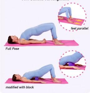Ardha Sarvangasana Yoga Positions(1)