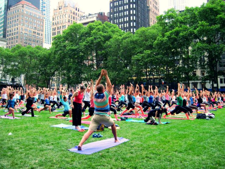 Йога-центры в Нью-Йорке