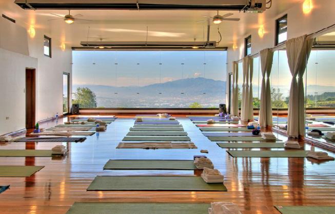 помещение для йоги