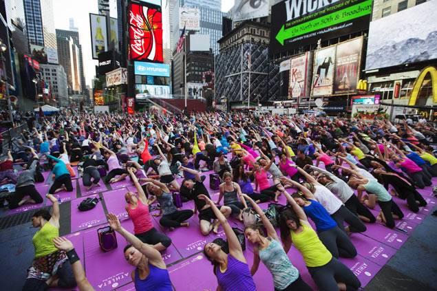 Международный день йоги-21 июня