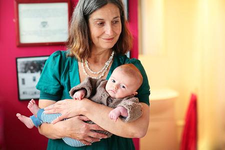 Франсуаза Фридман знает, что нужно беременной женщине и ее малышу